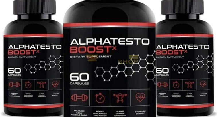 Alphatesto Boost X